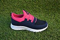 Детские кроссовки на девочку Nike Roshe Run найк розовые р31-35, копия, фото 1