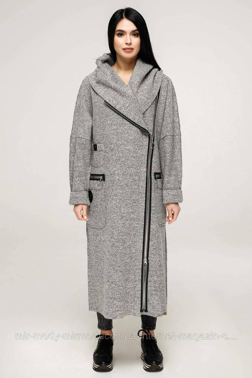 Пальто  демисезонное женское В-1189 Тон 3  (3 расцветки с 44 по 56 размер (фт)