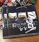 Подарочный бумажный пакет КВАДРАТ 24*24*10 см Лакшери, фото 2
