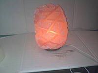 Соляная лампа Ананас 4-6 кг светильник