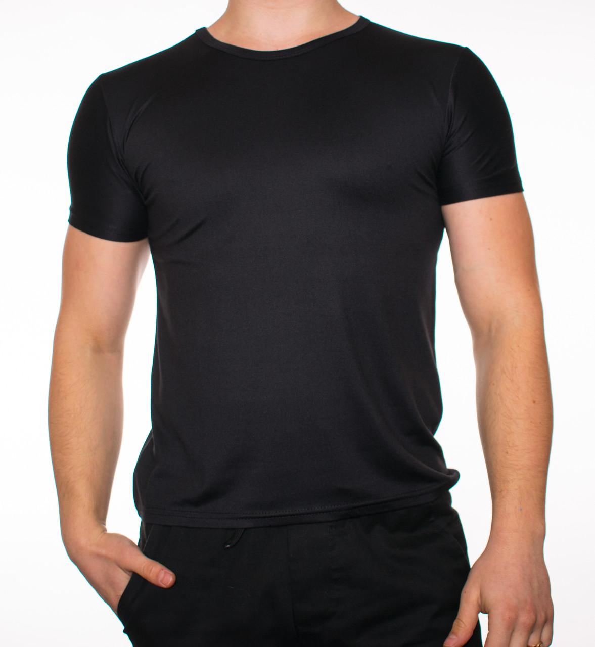 """Мужская футболка """"JUST"""" черный"""
