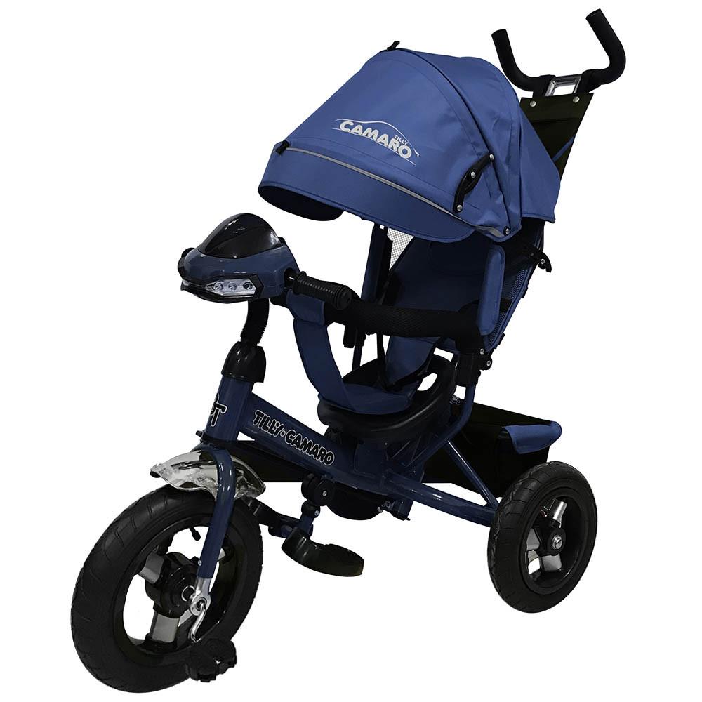 Велосипед трехколесный TILLY CAMARO T-362 Синий Гарантия качества Быстрота доставки