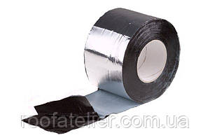 Стрічка самокл PLASTTER ST ALU NATUR 10cmx10mt алюм
