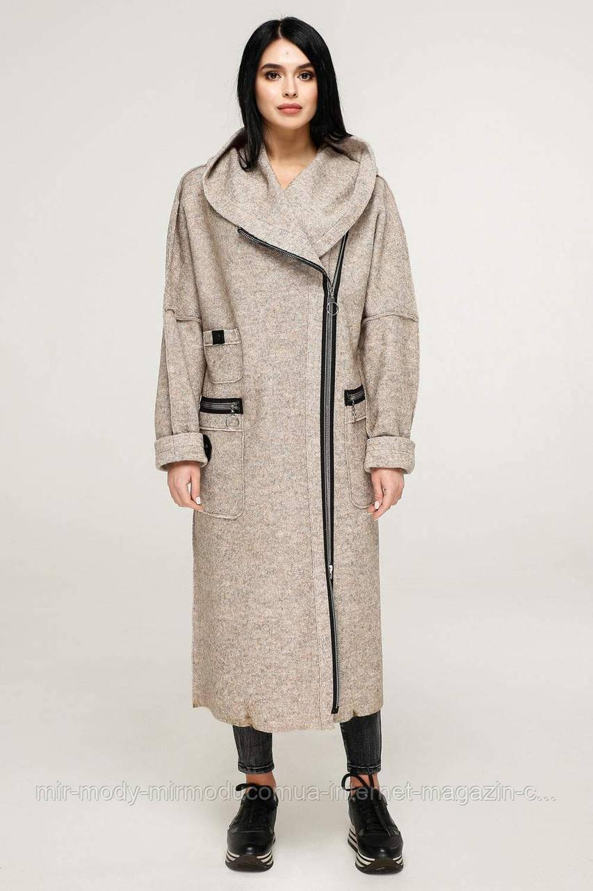 Пальто  демисезонное женское  В-1189 Тон  34  (3 расцветки с 44 по 56 размер (фт)