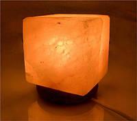 Соляная лампа Куб 4-6 кг светильник