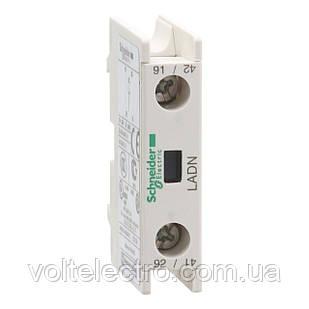 Блок контактный дополнительный к LC1-D фронтальный  1NС
