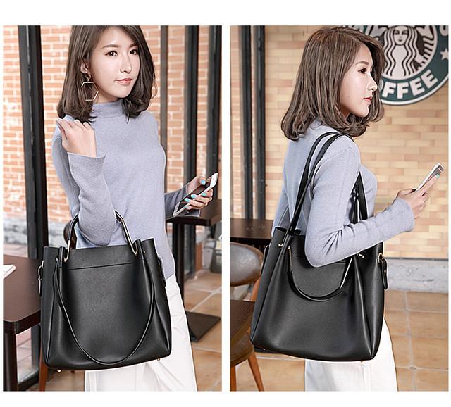 b3128ac9077a Черная женская сумка-шоппер B.Elit + кошелек, цена 690 грн., купить ...