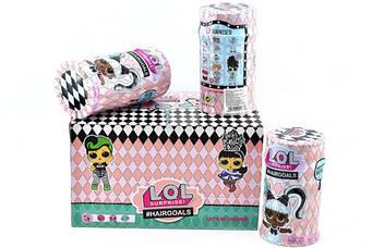 """Лялька """"L.Q.L"""" з волоссям (коробка 6шт) 960106 (р.17,5*19*28,5см.)"""