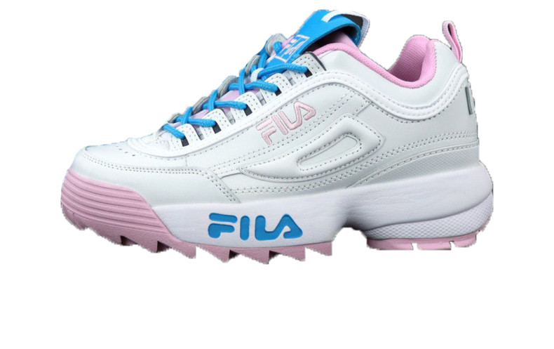 4854ba6c5e4f0a Женские Кроссовки Fila Disruptor II X Atipici White/Pink/Blue — в ...