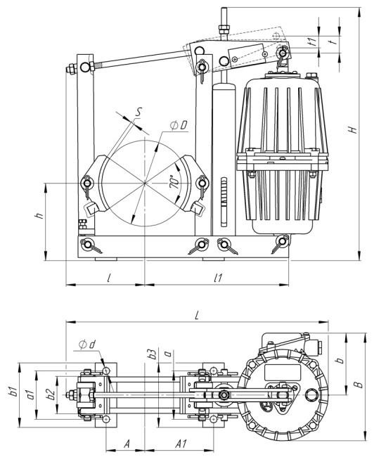 Конструкция колодочного тормоза ТКГ купить