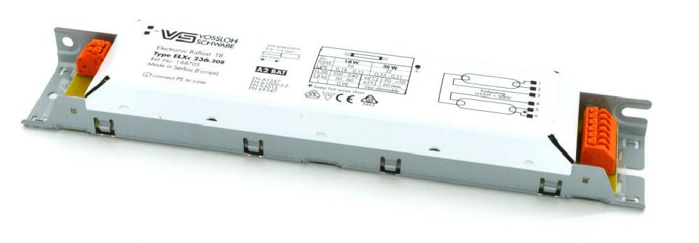 Балласт Vossloh-Schwabe ELXc 236.208 (2 x18/36W)