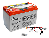Гелевый аккумулятор Weekender 100Ач с дисплеем и USB