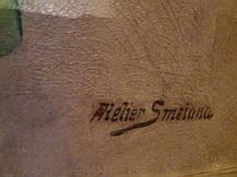 2 натюрморта нач. XX века худ. А.Сметана, фото 2