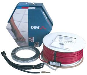 Набор DEVIflex 18T в стяжку для внутреннего и наружнего применения.