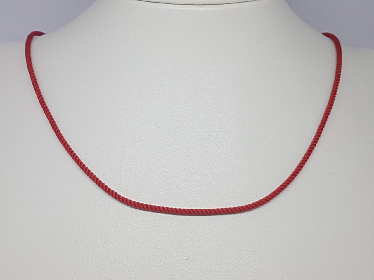 Ювелирный шнурок из текстиля с золотыми вставками. Артикул ПК102И 50