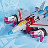 Transformers Трансформер Cyberverse Starscream  Hasbro (E1886/E1906)  Старскрим Кибервселенная Hasbro E1906, фото 2