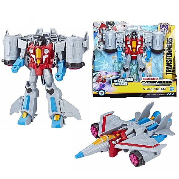 Transformers Трансформер Cyberverse Starscream  Hasbro (E1886/E1906)  Старскрим Кибервселенная Hasbro E1906