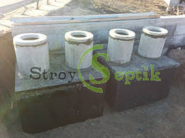 Септик бетонный 5 куб.м.