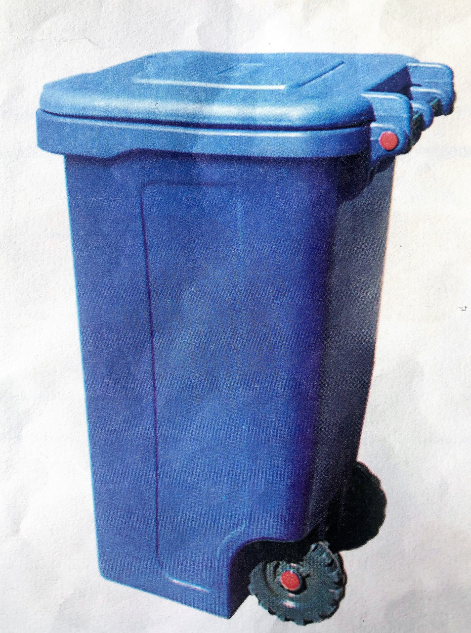 Контейнер для сміття на колесах, 240л, Од