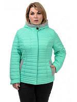 Женская  полуприталенная демисезонная куртка, фото 1