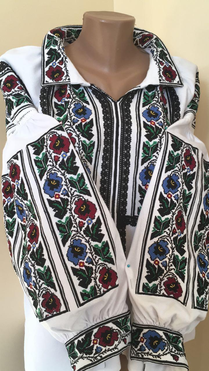 Борщівська вишиванка жіноча домоткане полотно 48 b4a13d624ffb3