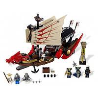 Конструктор Ninja Летающий корабль, 680 деталей