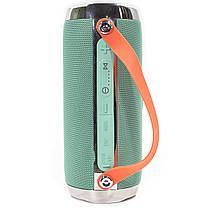 ☛Bluetooth-колонка BL JBL X93 Green портативная беспроводная dual 16 Вт USB переносная с ручкой microSD, фото 3