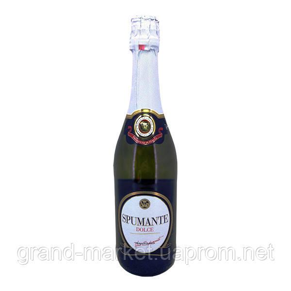 "Вино ігристе ""Spumante Allini Dolce"" 0.75 l"