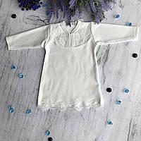 Крестильная рубаха на мальчика и девочку3. Размер 56 см, 62 см, 68 см, фото 1