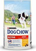 Dog Chow Active с курицей 14кг
