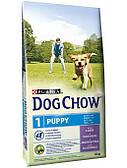 Dog Chow Puppy с ягненком и рисом 14кг