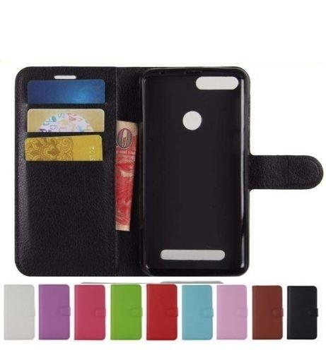 Чехол-книжка кошелек с магнитным фиксатором для Pixus Volt + силиконовый бампер внутри / Есть стекла