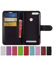 Чехол-книжка кошелек с магнитным фиксатором для Pixus Volt + силиконовый бампер внутри / Есть стекла, фото 1