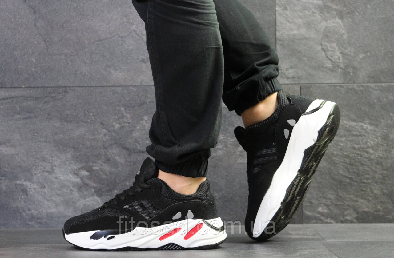 3c8b13ee902df4 Чоловічі кросівки Adidas Yeezy Boost 700, чорно-білі - BEST-CROSS в  Хмельницком