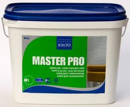 Клей Kiilto Master Pro для стеклохолста и тяжелых обоев 15л