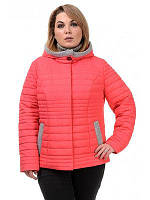 Полуприталенная демисезонная женская куртка, фото 1