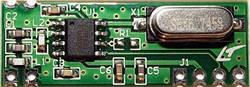 Приёмник RFM83C-433S супергетеродин, 433МГц, 300кбит/с, -108дБ