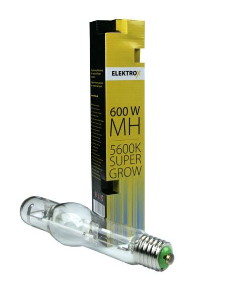 Лампа ДРИ  Elektrox SUPER GROW MH lamp 600W