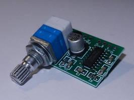 Модуль PAM8403 с регулятором громкости миниатюрный низковольтный аудио усилитель D-класса 2x3 Ватт