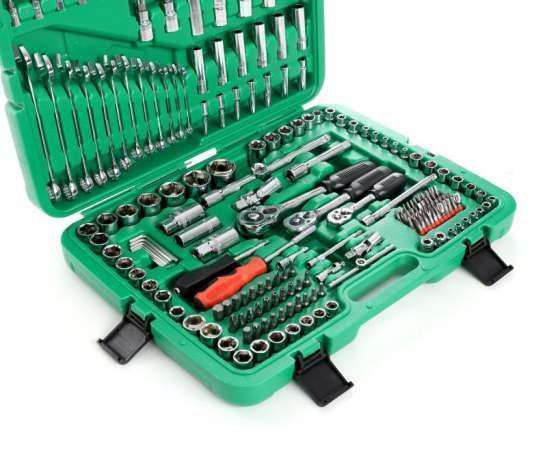 Набор ключей винтов насадочные набор инструментов Torx Tagred TA 203 включает 216 для машини гаража в кейсе