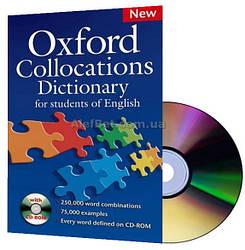 Oxford Collocations Dictionary / Словарь английского языка с диском / Oxford