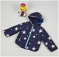Куртка для мальчика 010 весна-осень, размеры от 98 до 116, возраст от 3 до 5 лет, синий