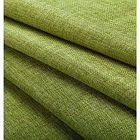 Ткань лен  мешковина оливка, высота 2.8м