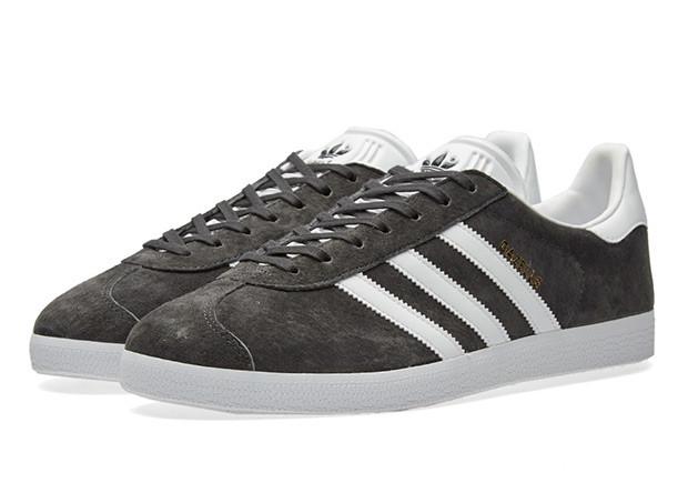 Чоловічі кросівки Adidas Gazelle Grey suede розміри з 41 по 46