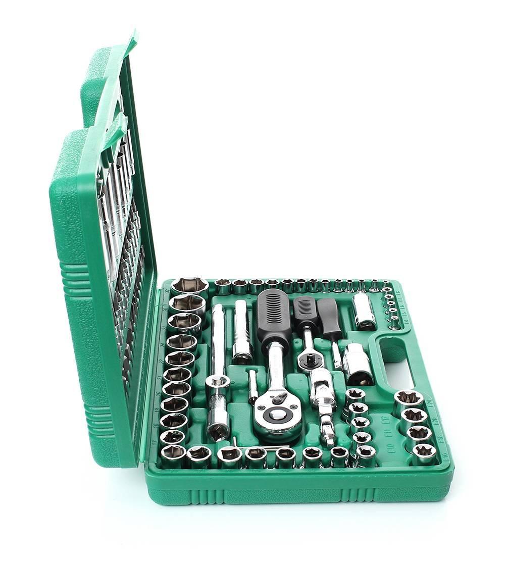 Набор ключей инструменты в кейсе TORX TAGRED TA 200 деталей 108 шт для дома авто в кейсе