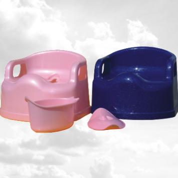 Горшок дитячий пластиковий, зємний контейнер, SL Люкс (ст), Од