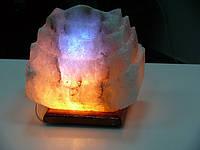 Соляная лампа Пагода 4-5 кг цветная светильник