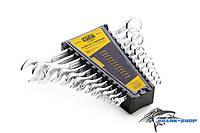 Набор ключей рожково - накидных стандарт 6-22мм (12 шт.) СИЛА
