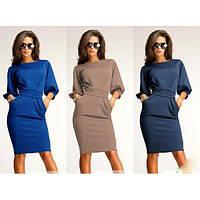 Платье много цветов, стильное платье, деловое платье, плаття