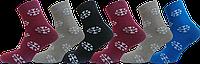 """Шкарпетки жіночі сніжинка оптом """"lomani"""""""